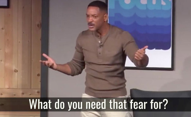 Regarder derrière la peur, la leçon de Will Smith